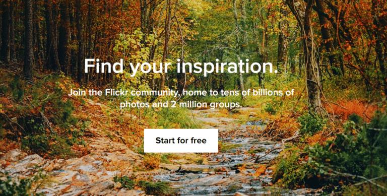 Flicker - אתר תמונות בחינם