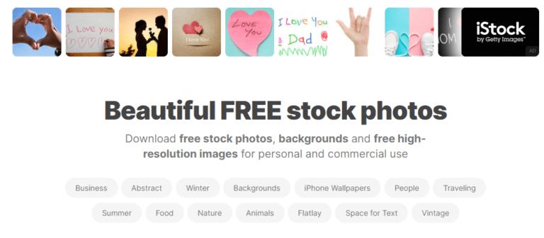 picjumbo - אתרי תמונות בחינם