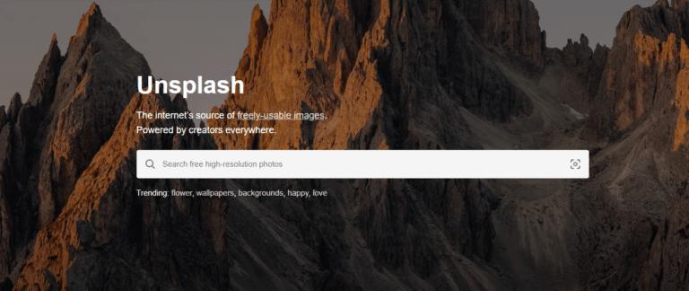 Unsplash - מאגר תמונות חינם
