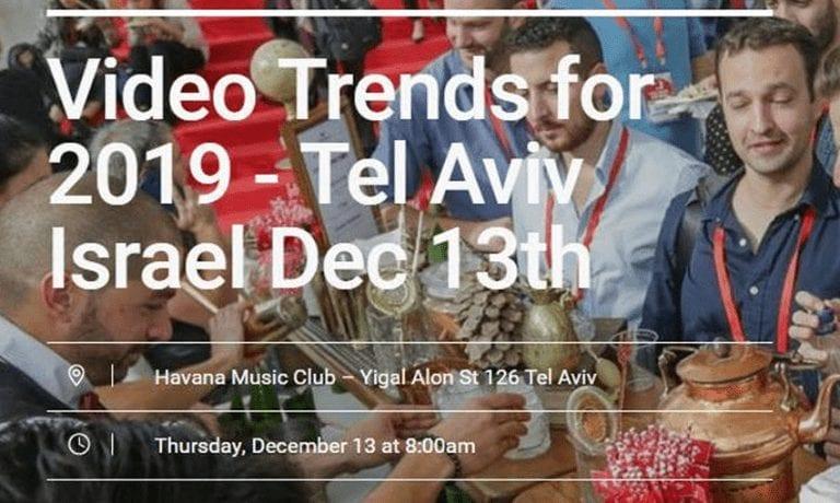 כנס Video Trends for 2019